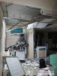У Харкові підірвали банкомат: вкрасти гроші злодії не змогли (ФОТО, ВІДЕО)