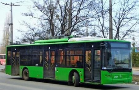 Завтра харків'яни отримають новий тролейбусний маршрут