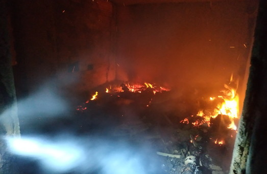 На Харківщині під час пожежі загинуло двоє людей