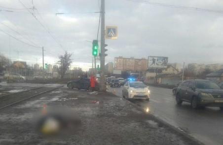 В Харкові пішохід загинув під колесами іномарки (ФОТО)