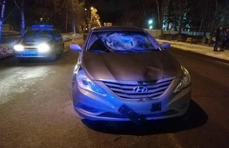 У Харкові в ДТП знову постраждав пішохід (ФОТО)