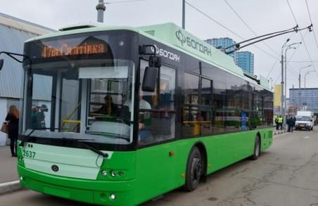 У Харкові придбають нові тролейбуси і вагони метро