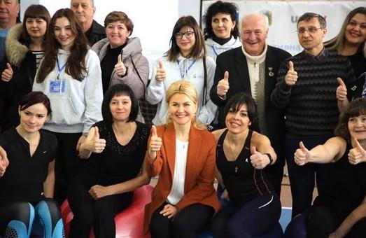 Світлична відвідала «Ярмарок здоров'я» у Шевченківському районі (ФОТО)