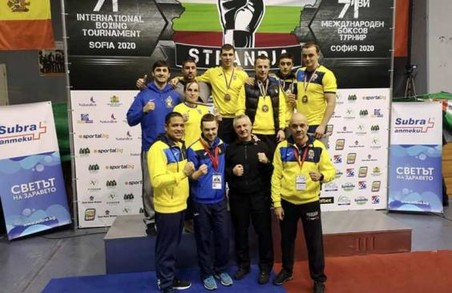 Боксери Харківщини завоювали 5 нагород міжнародного турніру