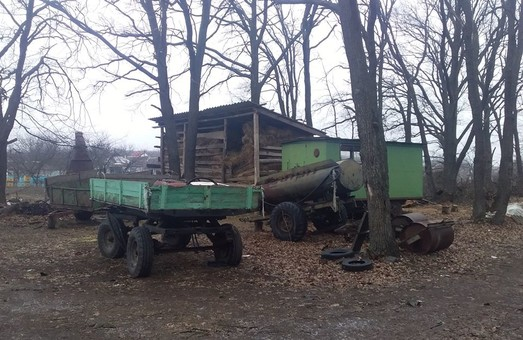 В Гайдарах місцеві ділки захопили частину території «Гомільшанських лісів» для своїх потреб – активісти