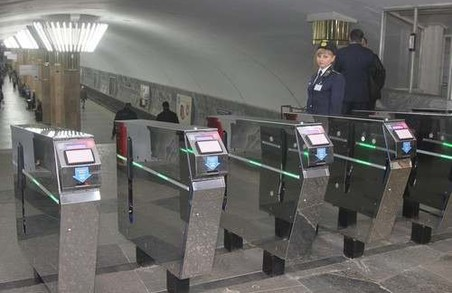 Компанія-новачок отримає за обслуговування турнікетів в харківському метро більше 13 мільйонів