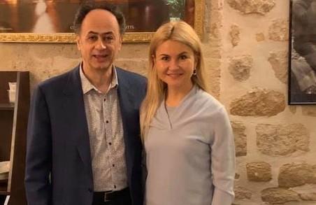 З друзями України завжди на зв'язку: Юлія Світлична зустрілася з Хюгом Мінгареллі