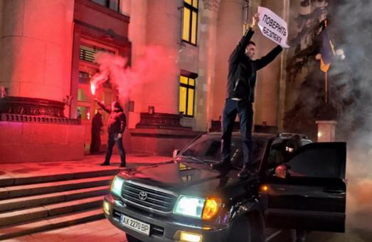 Акція з фаєрами під ХОДА: суд став на бік активіста (ВІДЕО)