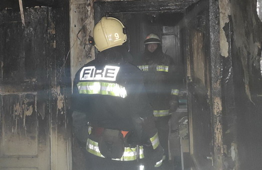 В центрі Харкова при пожежі загинув чоловік (ФОТО)
