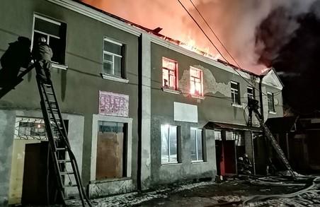 У Пісочині під час ліквідації пожежі рятувальники виявили тіло загиблого чоловіка