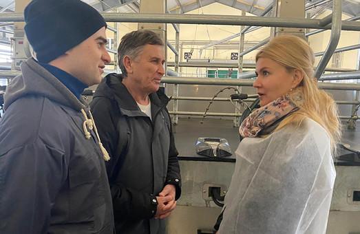 Світлична обговорила з мешканцями Краснограда шляхи вирішення міських проблем