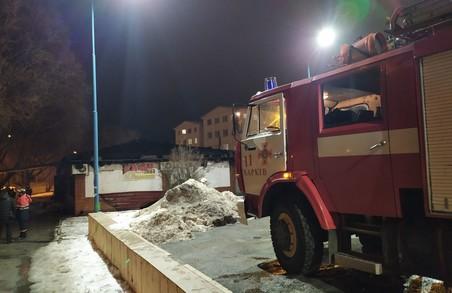 В Харкові рятувальники ліквідували пожежу в кафе