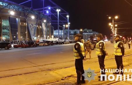 Стежити за порядком під час футболу будуть поліцейські та бійці Нацгвардії