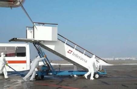 В міжнародному аеропорту «Харків» проведені протиепідемічні заходи (ФОТО)