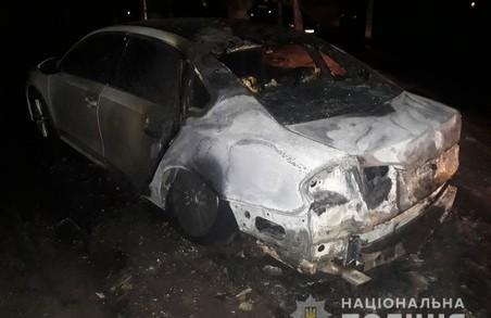 У Харкові вночі згоріла машина громадського активіста, в поліції підозрюють підпал (ФОТО)