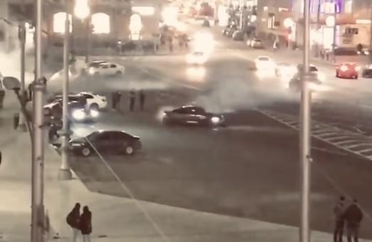«Дріфт» в центрі Харкова: поліція відкрила кримінальне провадження