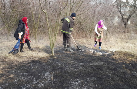 З початку весни на Харківщині трапилось 144 пожежі у природних екосистемах