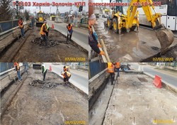 Як ремонтують дорогу в межах Малої Данилівки (ФОТО, ВІДЕО)