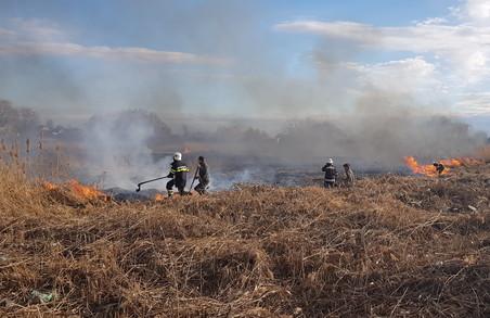 З початку березня на Харківщині виникло вже близько 400 пожеж в екосистемах