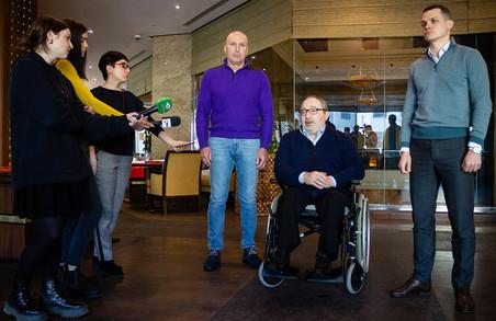 Ярославський закликав харківських бізнесменів приєднатися до боротьби з коронавірусом