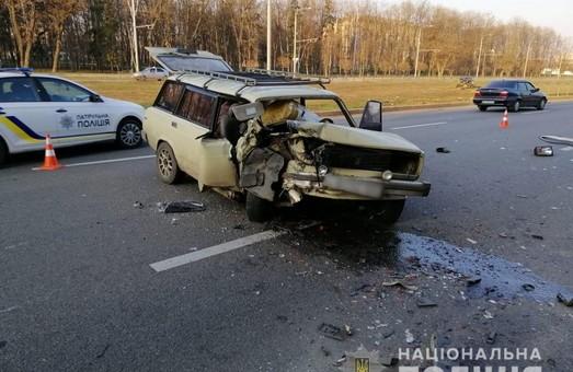 Жахлива ДТП в Харкові: травмовано п'ятеро осіб (ФОТО)