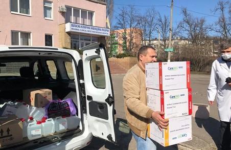 Харківська обласна клінічна інфекційна лікарня отримала допомогу від підприємців