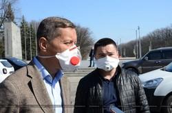 У Харкові проводять дезінфекцію вулиць (ФОТО)