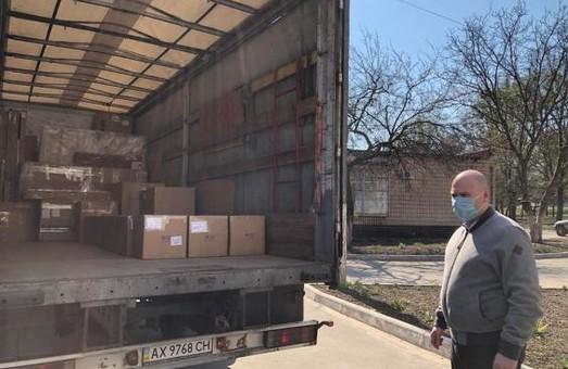 До обласної дитячої інфекційної лікарні надійшов черговий гуманітарний вантаж