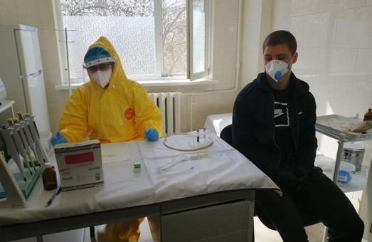 Харківська область отримала 20 тисяч експрес-тестів на COVID-19