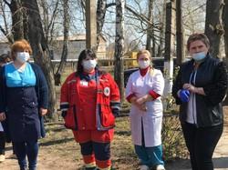 Кегичівська та Сахновщицька ЦРЛ не зафіксували жодного випадку COVID-19, тому що в лікарнях досі відсутні тести – Світлична