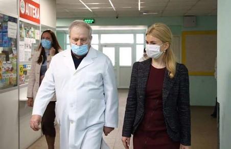 На другий день після присяги у ВР Світлична відвідала Лозову (ФОТО)