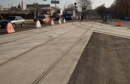 У Харкові реконструюють кілька трамвайних переїздів