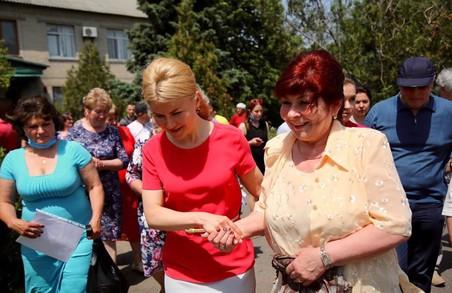 Розберемося в кожній проблемі: Світлична зустрілась з мешканцями Сахновщини