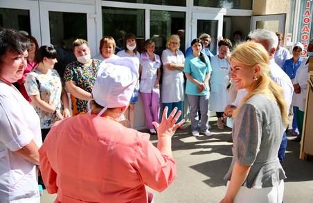 Світлична привітала медиків з професійним святом