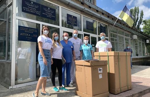 It-компанія SoftServe передала Апарат штучної вентиляції легень та засоби індивідуального захисту в лікарні Харкова
