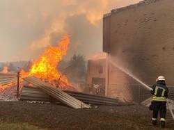 До ліквідації лісових пожеж на Луганщині залучені харківські рятувальники (ФОТО, ВІДЕО)