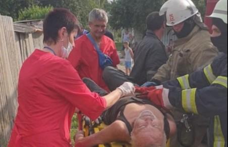 У Харкові рятувальники надали допомогу чоловікові, який був уражений електричним струмом
