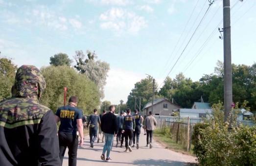 У Золочеві зірвали незаконне будівництво московської церкви (ФОТО)