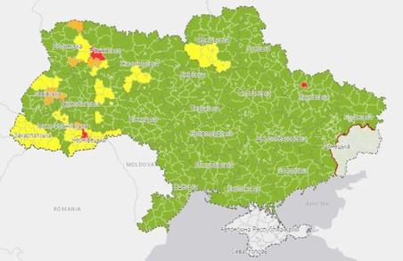 Харків потрапив у «червону зону» карантину
