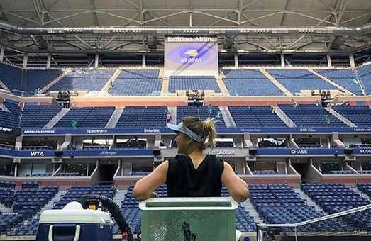 Провідна тенісистка з Харкова не схотіла піддавати себе ризику