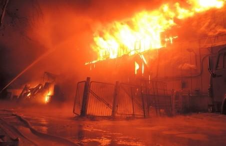 У Харківській області фермеру спалили техніку