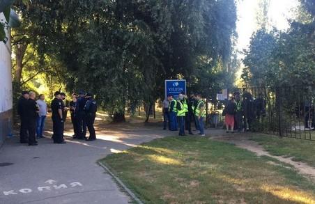 Стрілянина під Харковом: біля Київського райсуду – пікет (ФОТО)