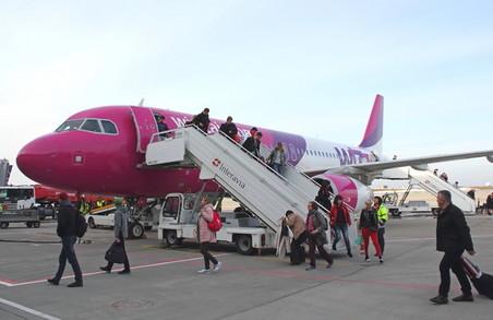 Wizz Air тимчасово припиняє перельоти з Харкова до столиці Угорщини