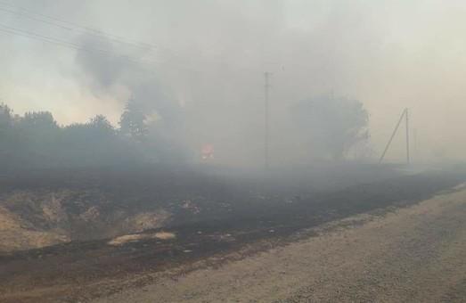 Пожежі під Харковом: оперативна обстановка залишається надзвичайно складною (ФОТО, ВІДЕО)