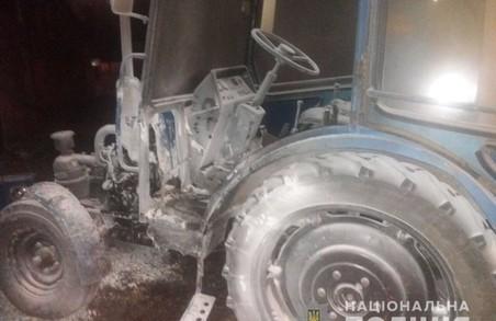 Вибух трактору на «Барабашово»: поліція відкрила кримінальне провадження (ФОТО)