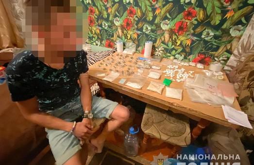 У Харкові затримали крупного наркоділка