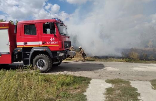Пожежі на Харківщині: минулої доби вогнеборці 27 разів залучались до гасіння пожеж на відкритих територіях
