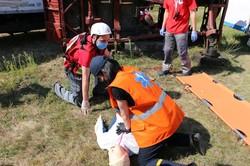 На Харківщині відбулись спільні регіональні навчання з ліквідації надзвичайних ситуацій (ФОТО)