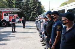 Зведений загін рятувальників повернувся з Донбасу (ФОТО)