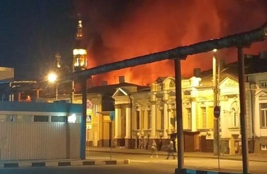 У Харкові зайнялася дуже велика пожежа на Центральному ринку (ВІДЕО)